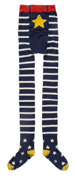Piccalilly Strumpfhose - Blau & Weiss