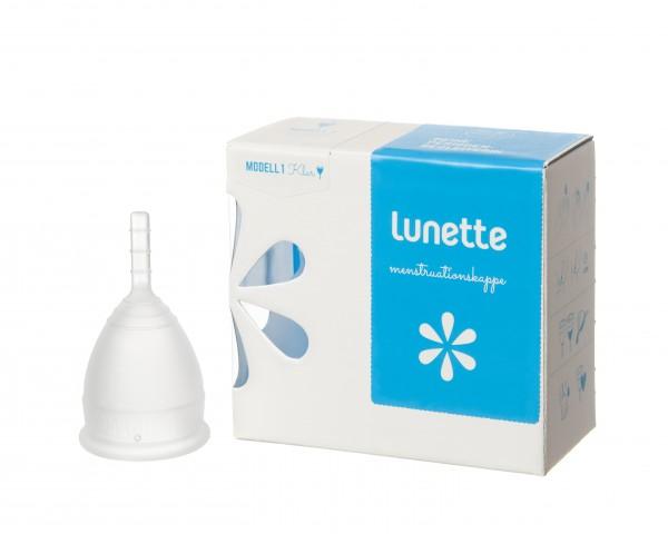 Lunette Menstruationstasse Classic, Klar
