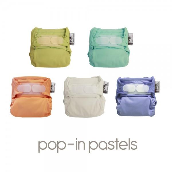 Close Pop-In V2 Bamboo, 5er Pack, Pastell
