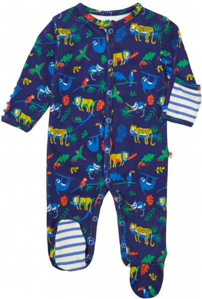 Piccalilly Pyjama mit Füssen - Safari