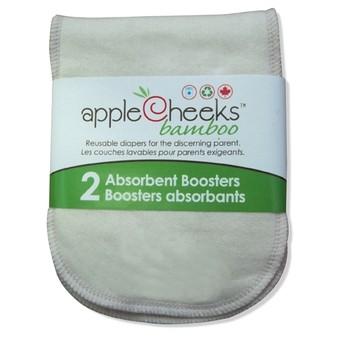 Applecheeks Bambus - Booster 2er Pack