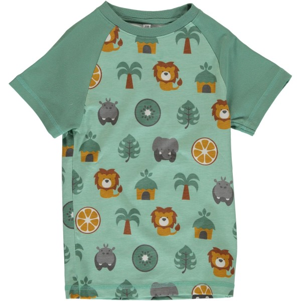 Maxomorra T-Shirt - Dschungel Slim