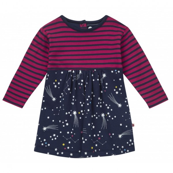 Piccalilly Baby-Body-Kleid Langarm - Galaxie