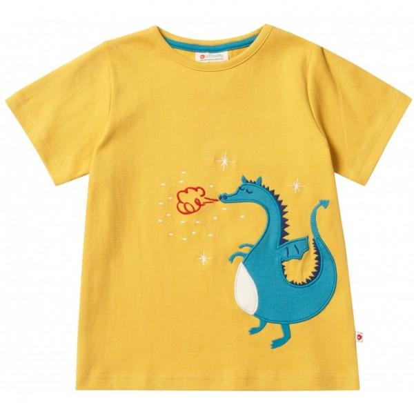 Piccalilly T-Shirt - senfgelb mit Drache