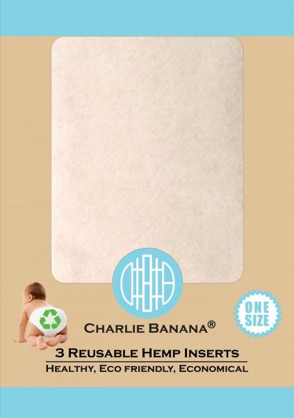 Charlie Banana Hanfeinlagen OS (3 Stück)