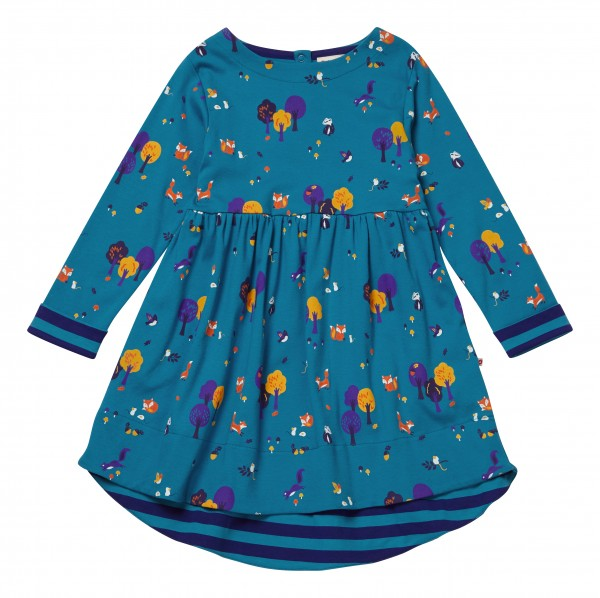 Piccalilly Kleid Langarm - Waldtiere