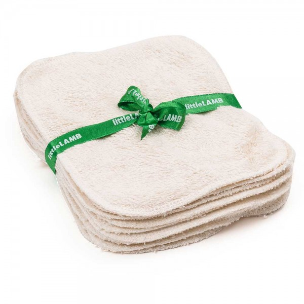 Littlelamb Waschläppchen Bio-Baumwolle